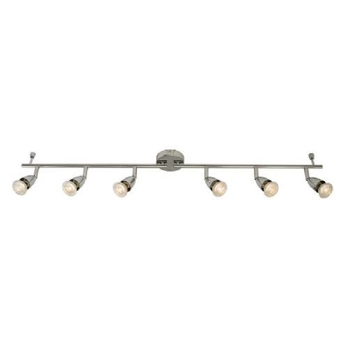 Chrome effect plate Spotlight 61000 by Endon
